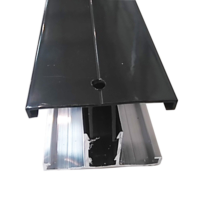 Profil jonction pour plaque ep 16 32 mm gris ral 7016 l - Plaque polycarbonate 32 mm ...