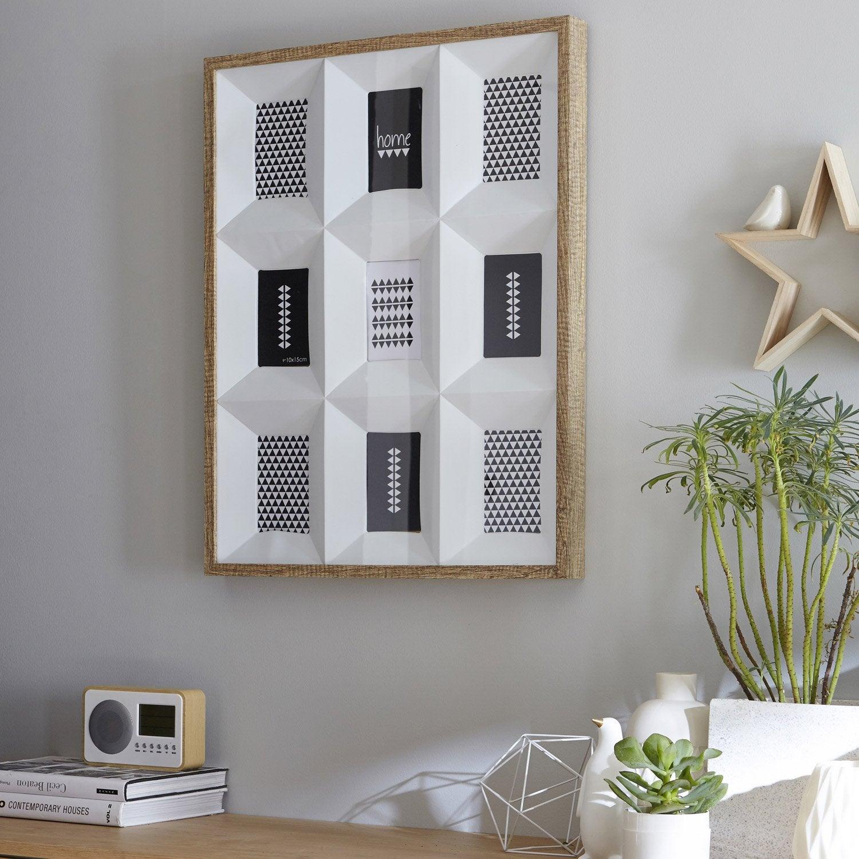 cadre photo multivues pas cher avec leroy merlin brico depot. Black Bedroom Furniture Sets. Home Design Ideas