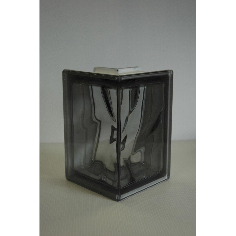 brique de verre pegas nordica ondul e brillante leroy. Black Bedroom Furniture Sets. Home Design Ideas