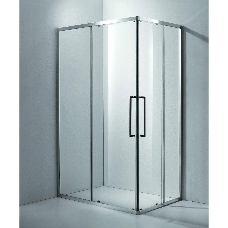 Porte de douche coulissante leroy merlin les produits - Porte de douche pliante leroy merlin ...