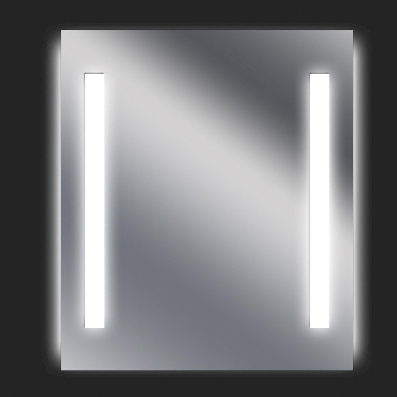 sensea miroir fluo ayo 60x70cm leroy merlin. Black Bedroom Furniture Sets. Home Design Ideas