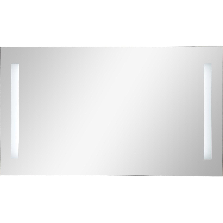 fabulous extrmement miroir lumineux avec clairage intgr l x h cm ayo with leroy merlin cimaise. Black Bedroom Furniture Sets. Home Design Ideas