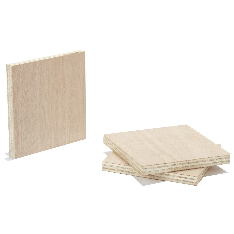 pr d coup contreplaqu okoum ext rieur mm x x cm leroy merlin. Black Bedroom Furniture Sets. Home Design Ideas