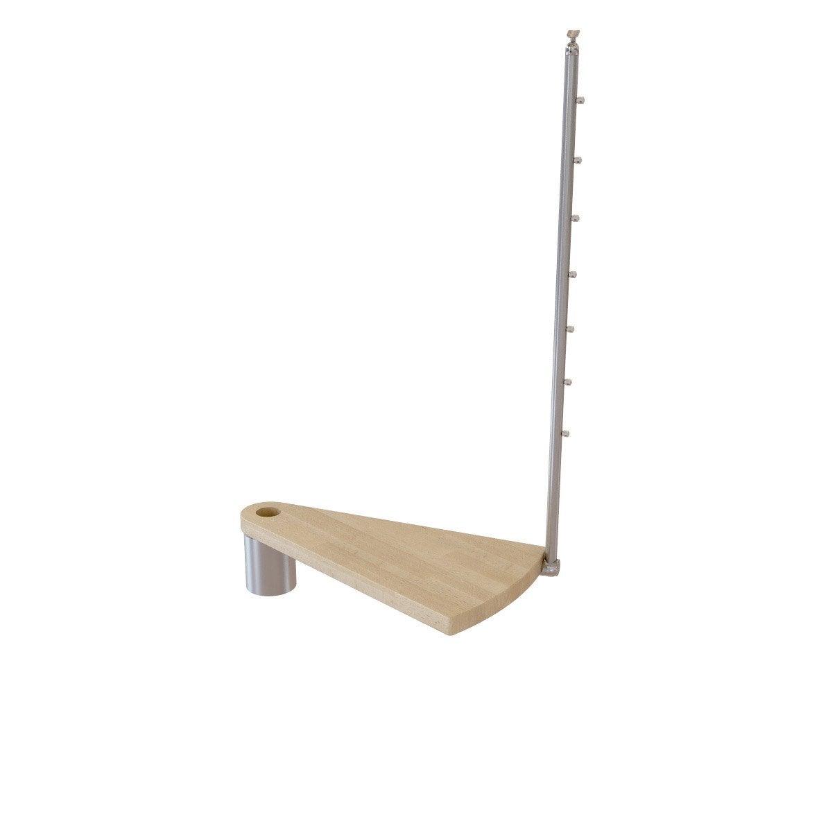 hauteur pour escalier ring line chrom bois clair diam 158 cm leroy merlin. Black Bedroom Furniture Sets. Home Design Ideas