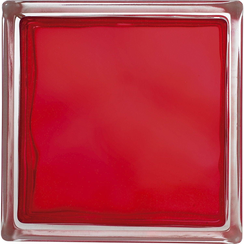 Brique de verre rouge ondul brillant leroy merlin - Leroy merlin brique de verre ...