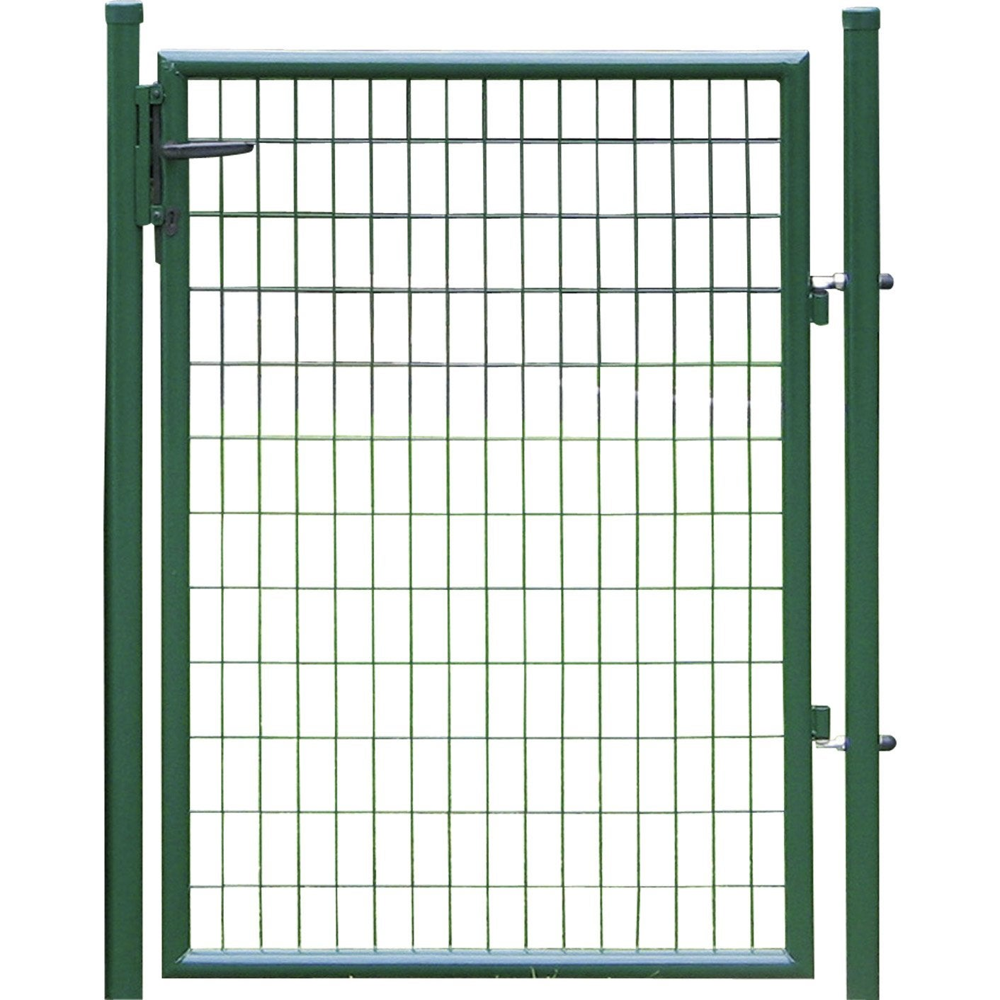 Portillon vert h 1 x l 1 m maille x mm leroy for Table exterieur 1m