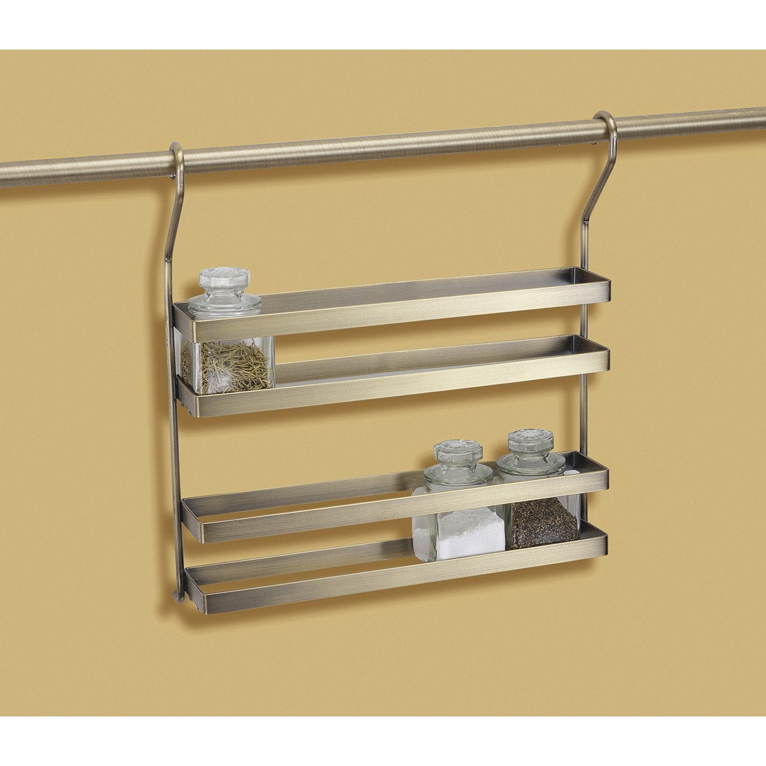 Double tag re pour barre de cr dence m tal leroy merlin - Etagere sur mesure leroy merlin ...