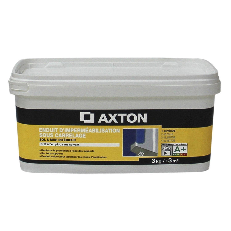 Enduit d 39 imperm abilisation axton 3 kg leroy merlin - Enduit a la chaux leroy merlin ...