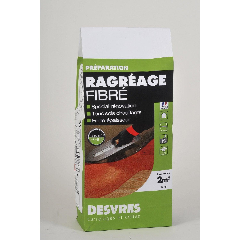 Ragr age fibr int rieur desvres 10 kg leroy merlin - Ragreage exterieur fibre ...