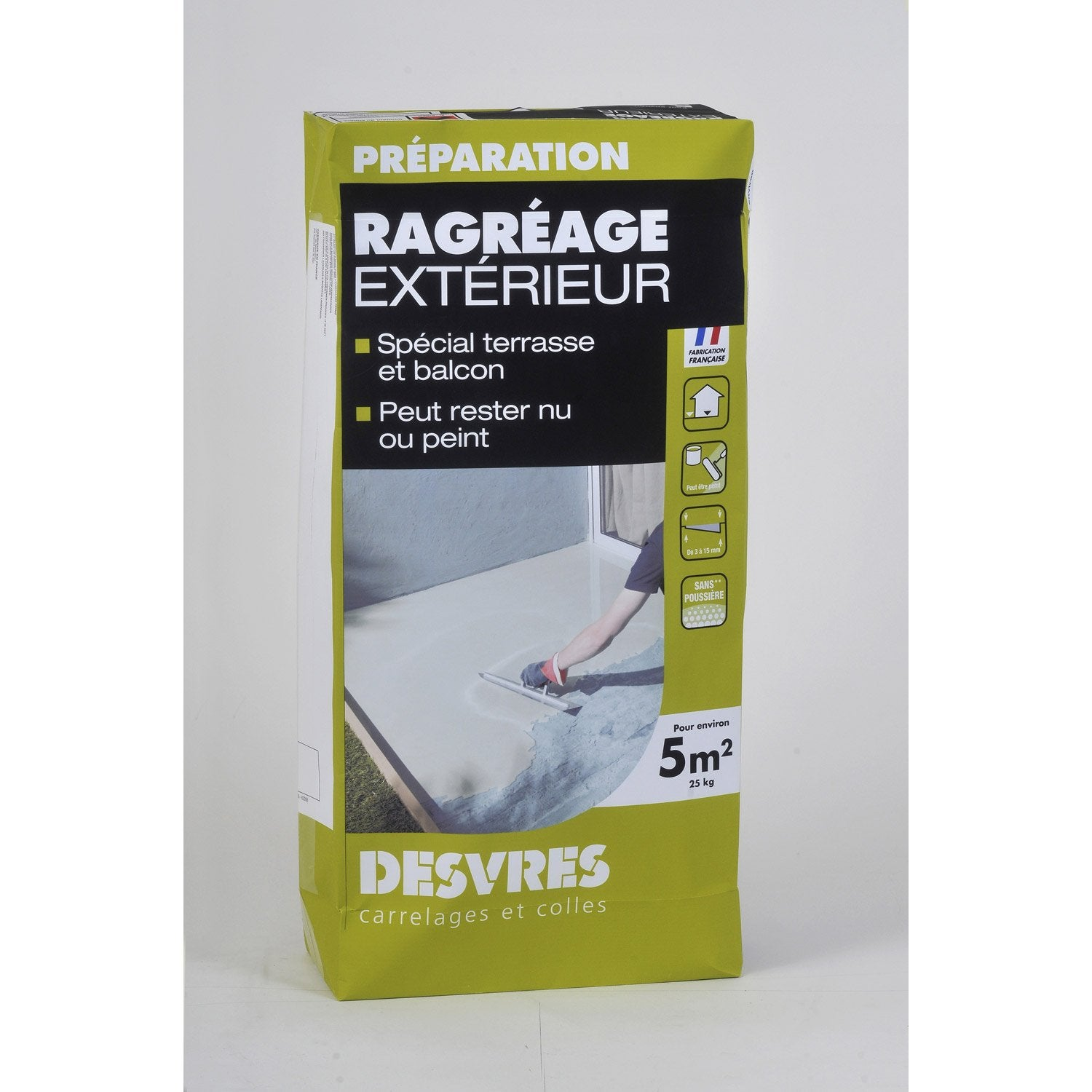 Leroy merlin ragreage maison design for Ragreage mural exterieur