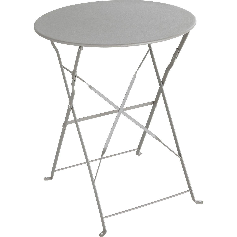 Table de jardin ronde - Table a tapisser leroy merlin ...