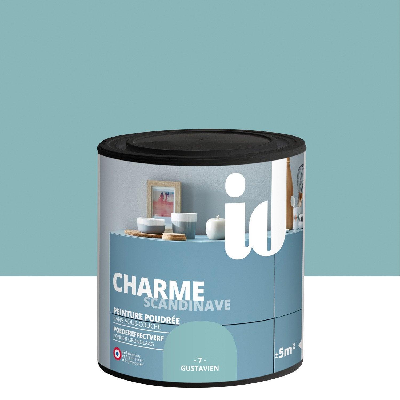 peinture pour meuble objet et porte poudr id charme gustavien 0 5 l leroy merlin. Black Bedroom Furniture Sets. Home Design Ideas