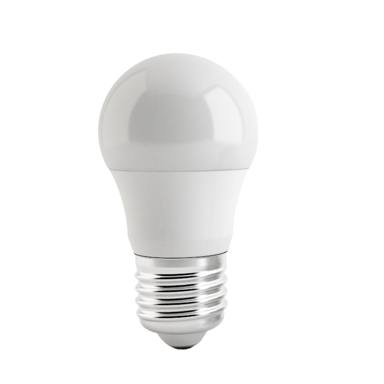 lot de 2 ampoules sph riques led 5w 470lm quiv 40w e14 4000k lexman leroy merlin. Black Bedroom Furniture Sets. Home Design Ideas