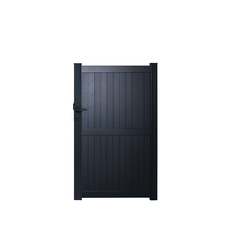 portillon battant naterial noyal x cm. Black Bedroom Furniture Sets. Home Design Ideas