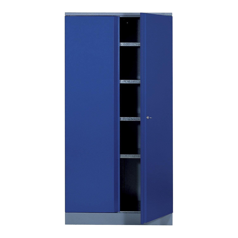 armoire de rangement en m tal bleu kupper 45 5 cm 1 porte. Black Bedroom Furniture Sets. Home Design Ideas