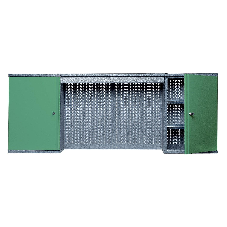 armoire de rangement en m tal vert kupper 160 cm 2 portes. Black Bedroom Furniture Sets. Home Design Ideas