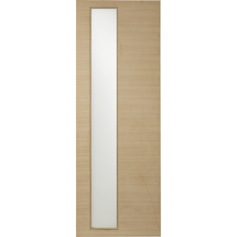 Porte coulissante helsinki artens vitr e 204 x 73 cm - Porte coulissante leroy merlin artens ...