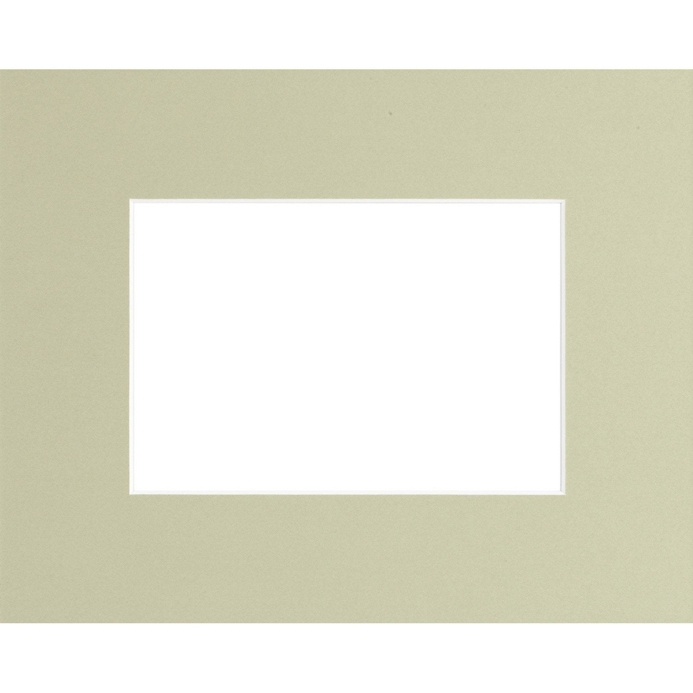 passe partout 10x15 cm vert amande leroy merlin. Black Bedroom Furniture Sets. Home Design Ideas