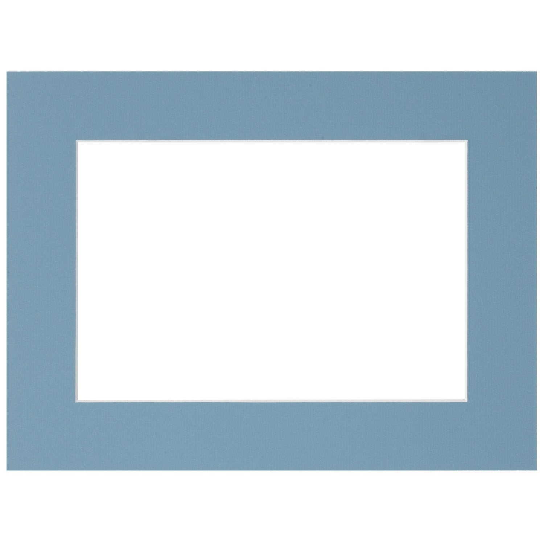 passe partout 10x15 cm bleu glacier leroy merlin. Black Bedroom Furniture Sets. Home Design Ideas