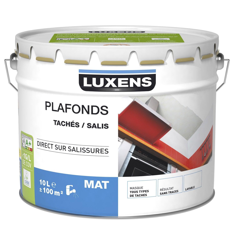 Peinture plafonds luxens mat 10l leroy merlin - Peinture leroy merlin luxens ...