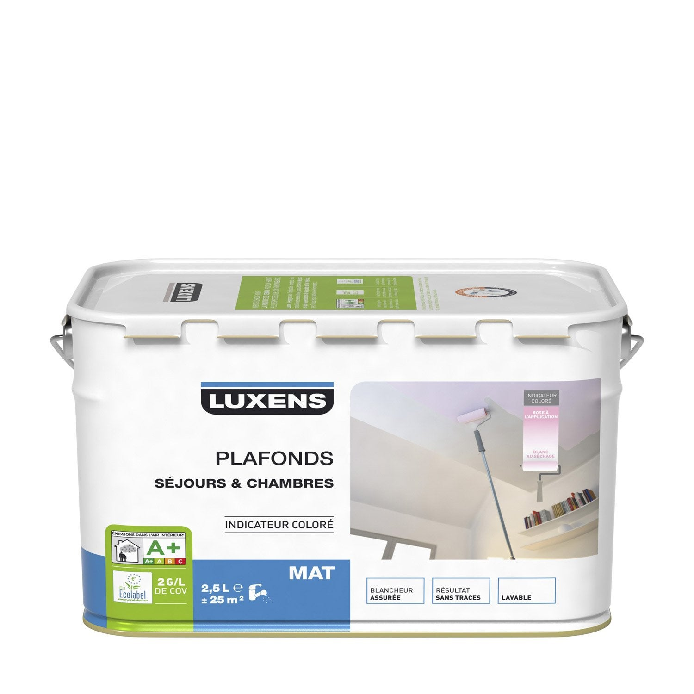 Peinture plafonds luxens mat 2 5l leroy merlin - Peinture polyurethane leroy merlin ...