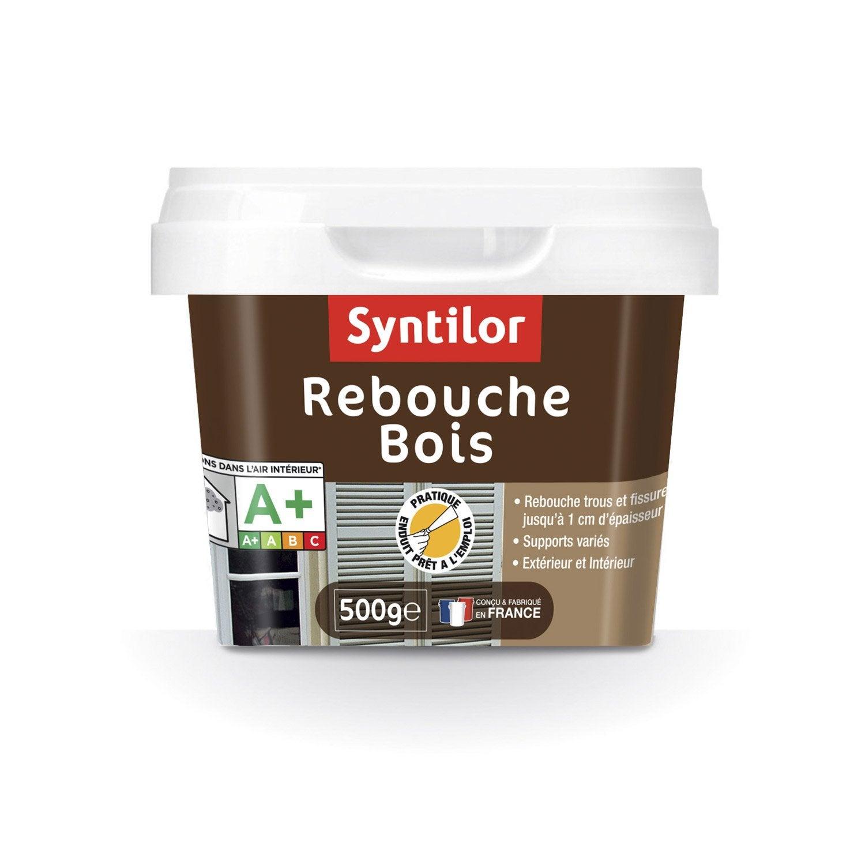 Rebouche bois syntilor gris clair 500 g leroy merlin - Store venitien bois leroy merlin ...