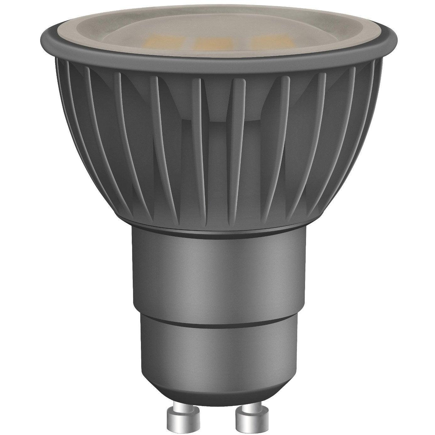 ampoule r flecteur led 6 5w 450lm quiv 50w gu10 2700k. Black Bedroom Furniture Sets. Home Design Ideas