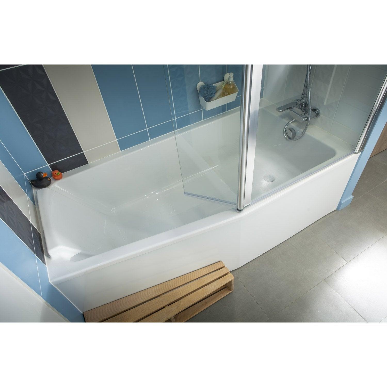 baignoire sofa asym trique jacob delafon 170x85 cm. Black Bedroom Furniture Sets. Home Design Ideas