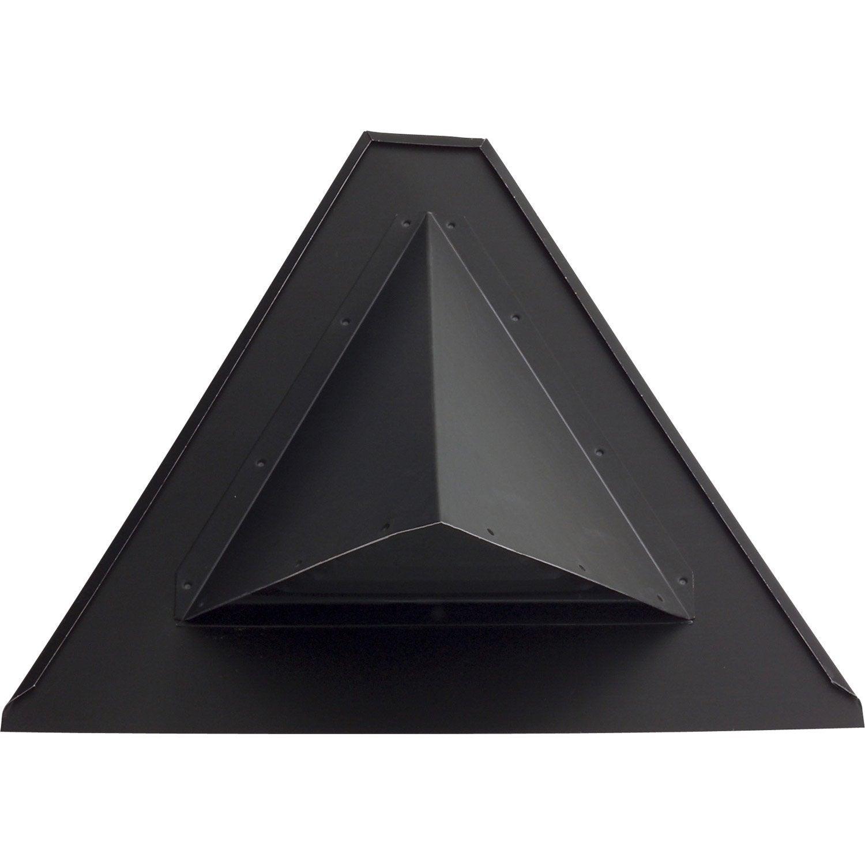 chati re oxter scover plus noir leroy merlin. Black Bedroom Furniture Sets. Home Design Ideas