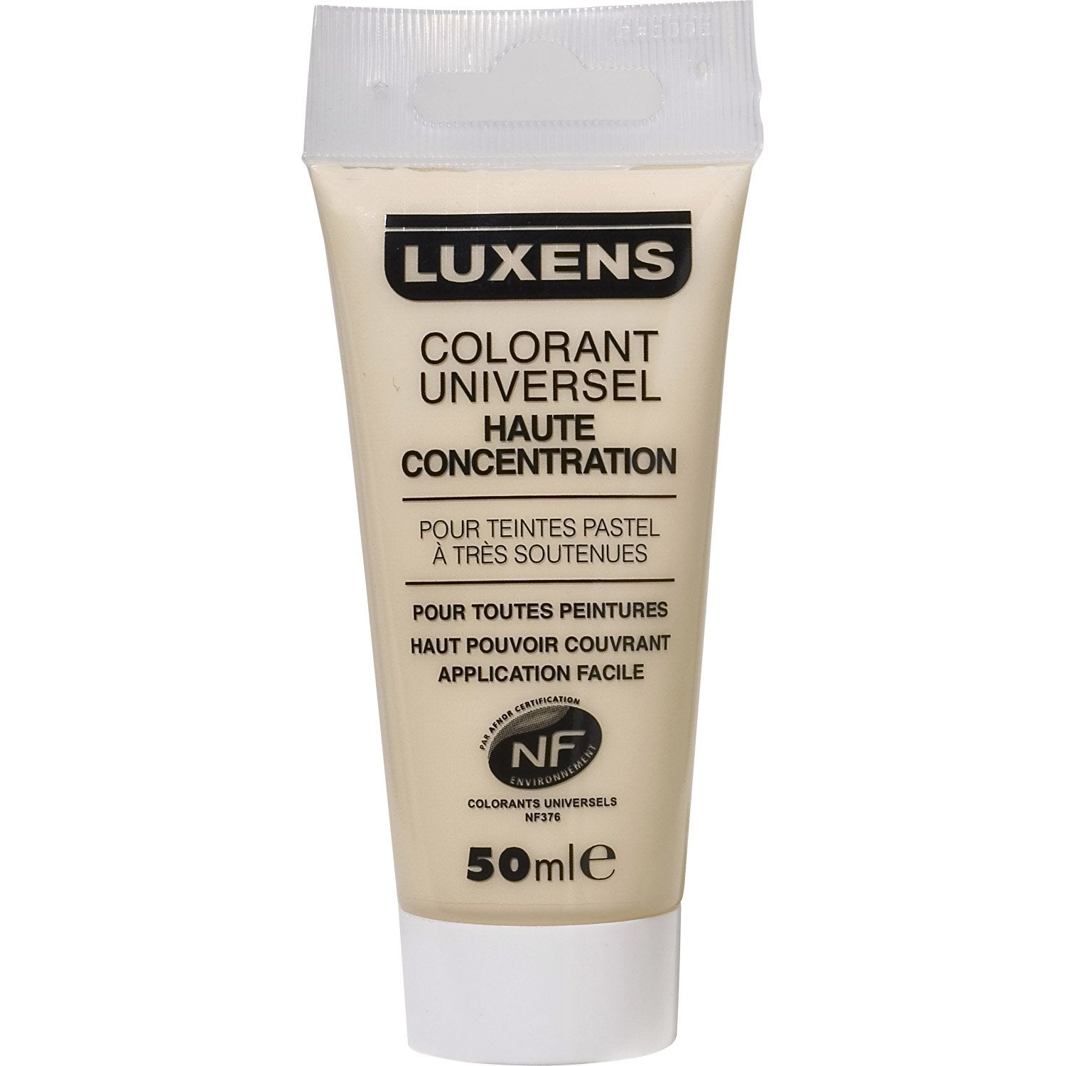 colorant concentr blanc ivoire 50 ml luxens leroy merlin - Colorants Universels Pour Peinture