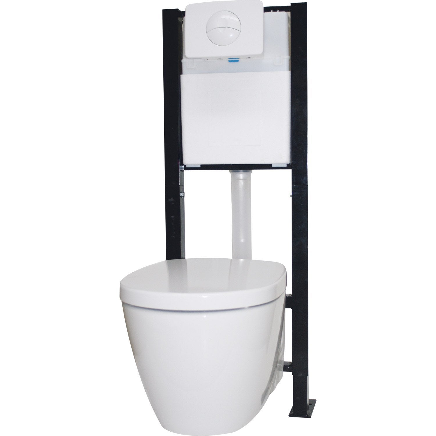 Castorama toilette suspendu meuble suspendu pour wc for Meuble toilette gifi