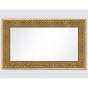 Miroir Orné, or, l.60 x H.120 cm