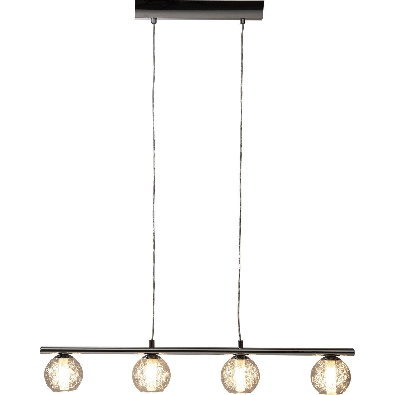 suspension design altone m tal blanc 4 x 40 w eglo leroy. Black Bedroom Furniture Sets. Home Design Ideas