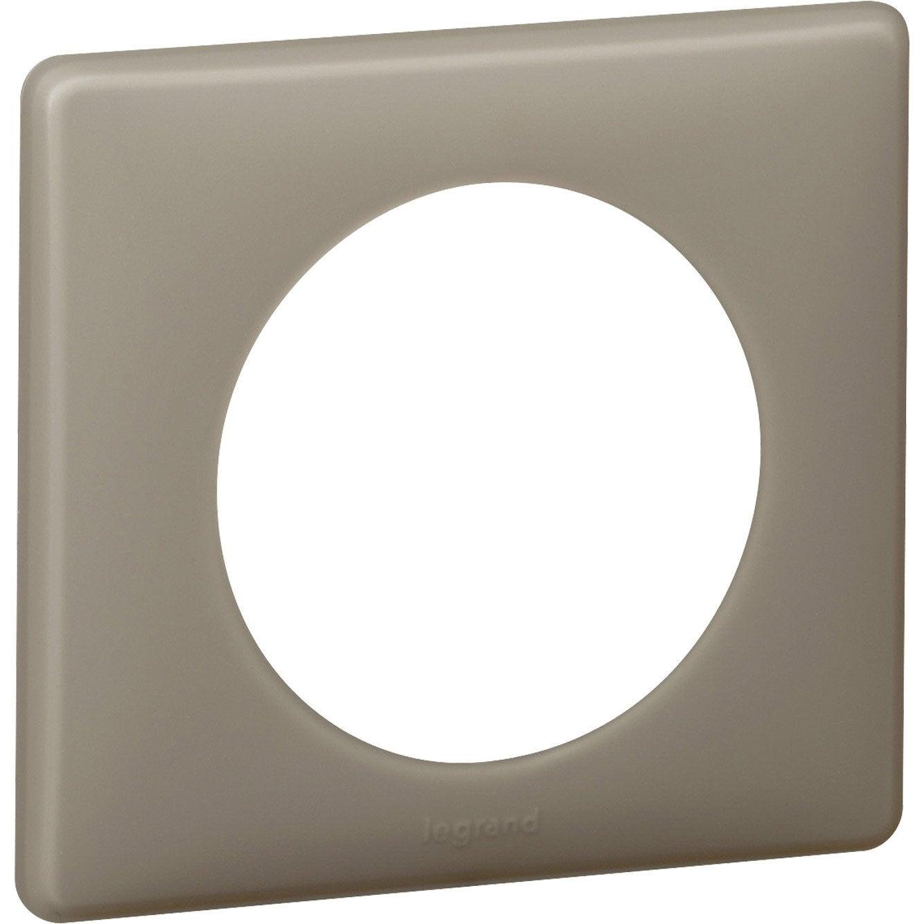 Plaque simple c liane legrand gr s leroy merlin - Leve plaque leroy merlin ...