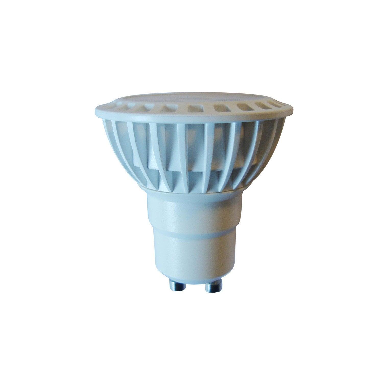 ampoule r flecteur led 5w 345lm quiv 50w gu10 3000k. Black Bedroom Furniture Sets. Home Design Ideas