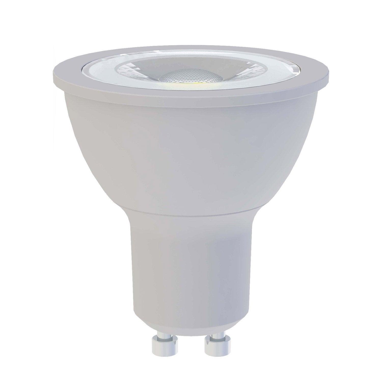 ampoule r flecteur led 7w 500lm quiv 70w gu10 2700k. Black Bedroom Furniture Sets. Home Design Ideas