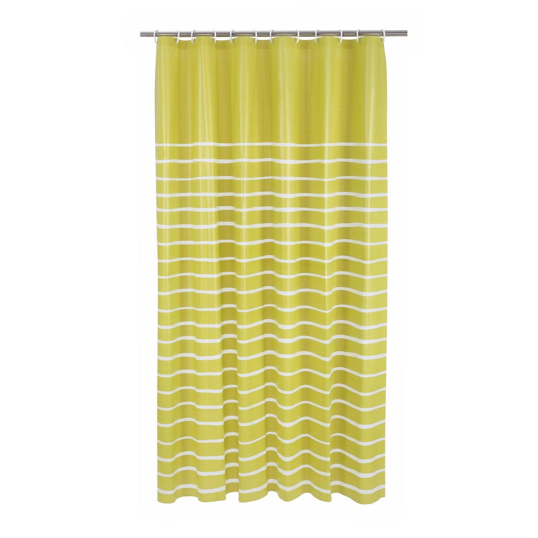 rideau de douche en plastique vert botanique n 3 x cm zephyr sensea leroy merlin. Black Bedroom Furniture Sets. Home Design Ideas