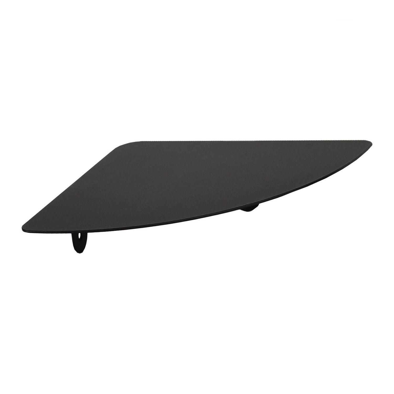 Tablette d 39 angle scandi noir noir n 0 leroy merlin - Tablette verre leroy merlin ...
