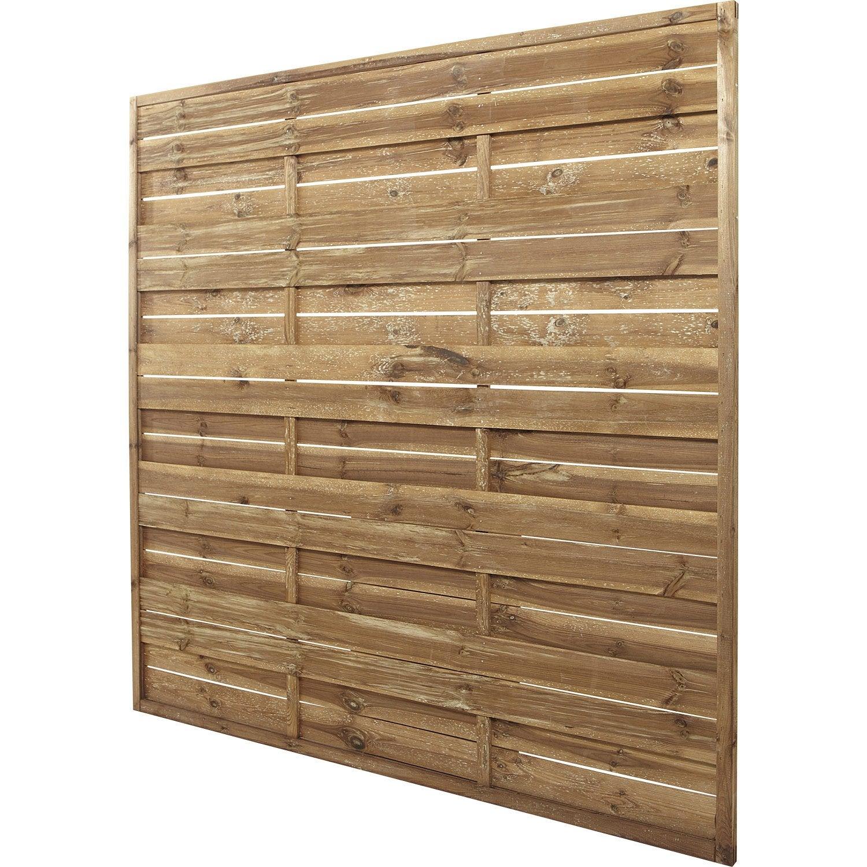 panneau droit occultant lineo 180x180 cm couleur lasur marron leroy merlin. Black Bedroom Furniture Sets. Home Design Ideas