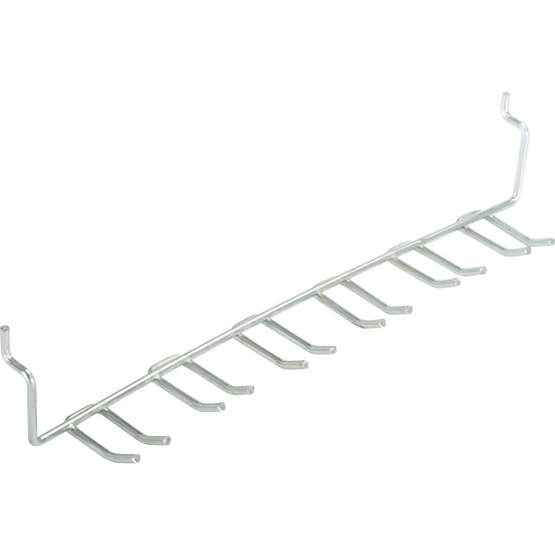 crochet pour panneau perfor mottez h 4 x x p 4 cm leroy merlin. Black Bedroom Furniture Sets. Home Design Ideas