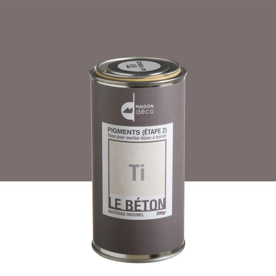 peinture effet pigment le b ton maison deco ti 0 2 kg leroy merlin. Black Bedroom Furniture Sets. Home Design Ideas