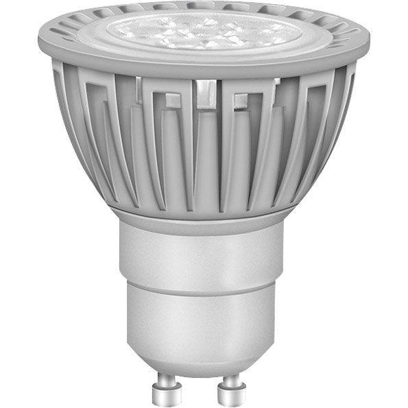 ampoule r flecteur led 5w 350lm quiv 50w gu10 3000k. Black Bedroom Furniture Sets. Home Design Ideas
