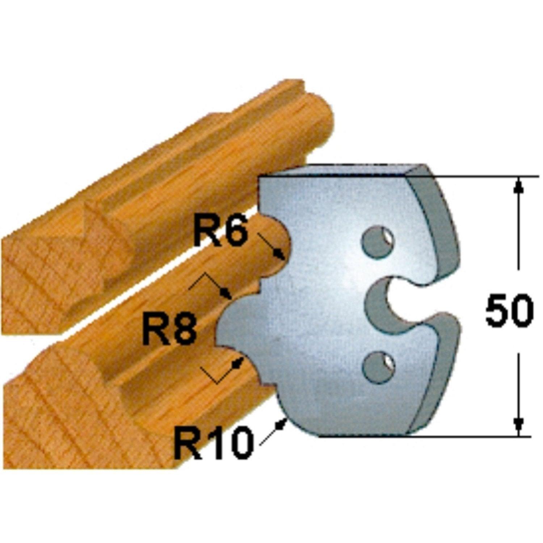 Lot de 2 couteaux pour porte outils kwo leroy merlin - Porte couteaux pour table ...