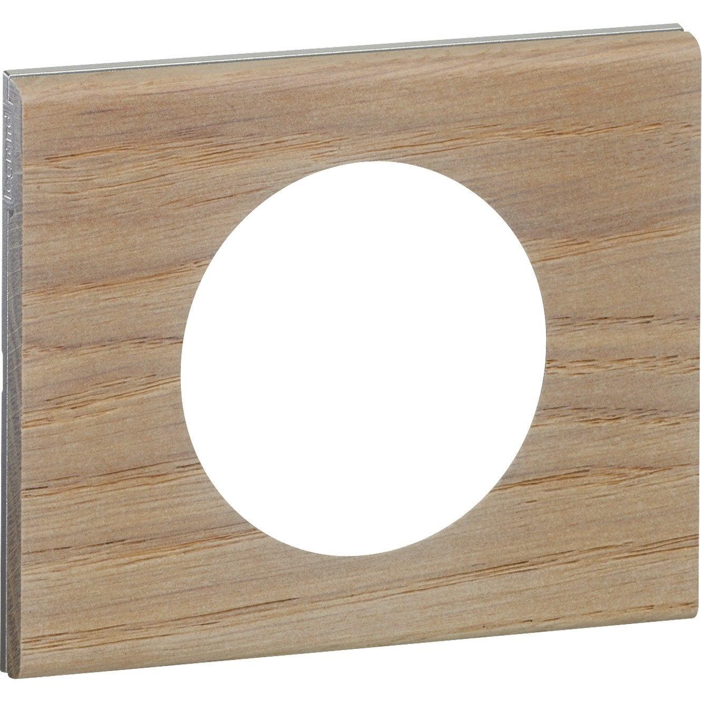 plaque simple c liane legrand ch ne blanchi leroy merlin. Black Bedroom Furniture Sets. Home Design Ideas
