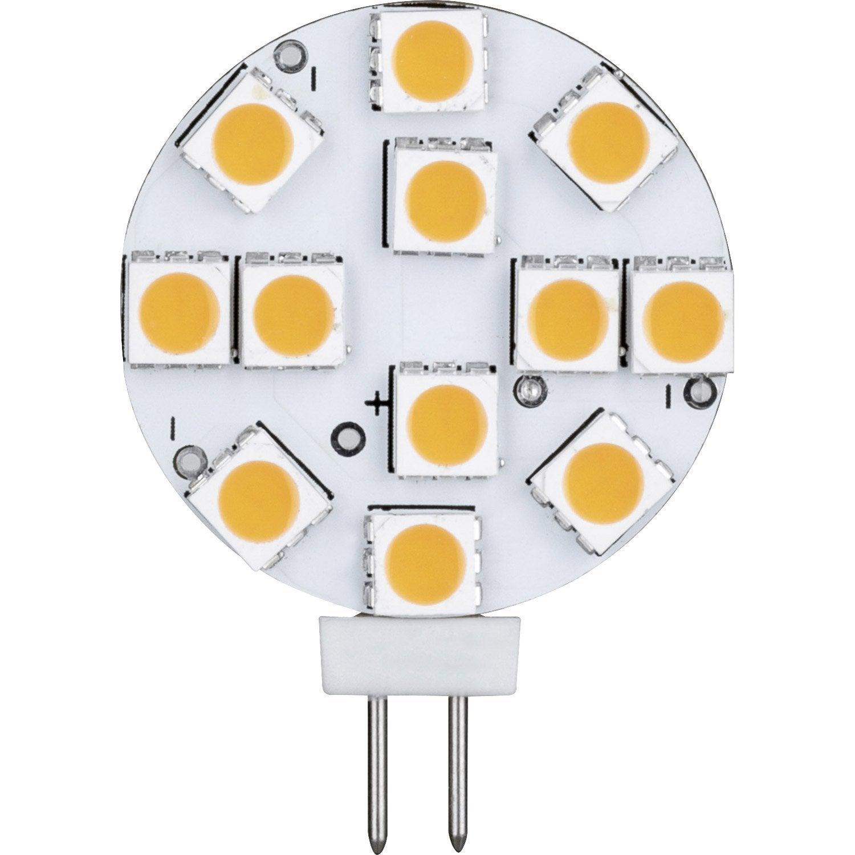 Ampoule bulbe LED 2 5W = 180Lm équiv 20W G4 2700K PAULMANN