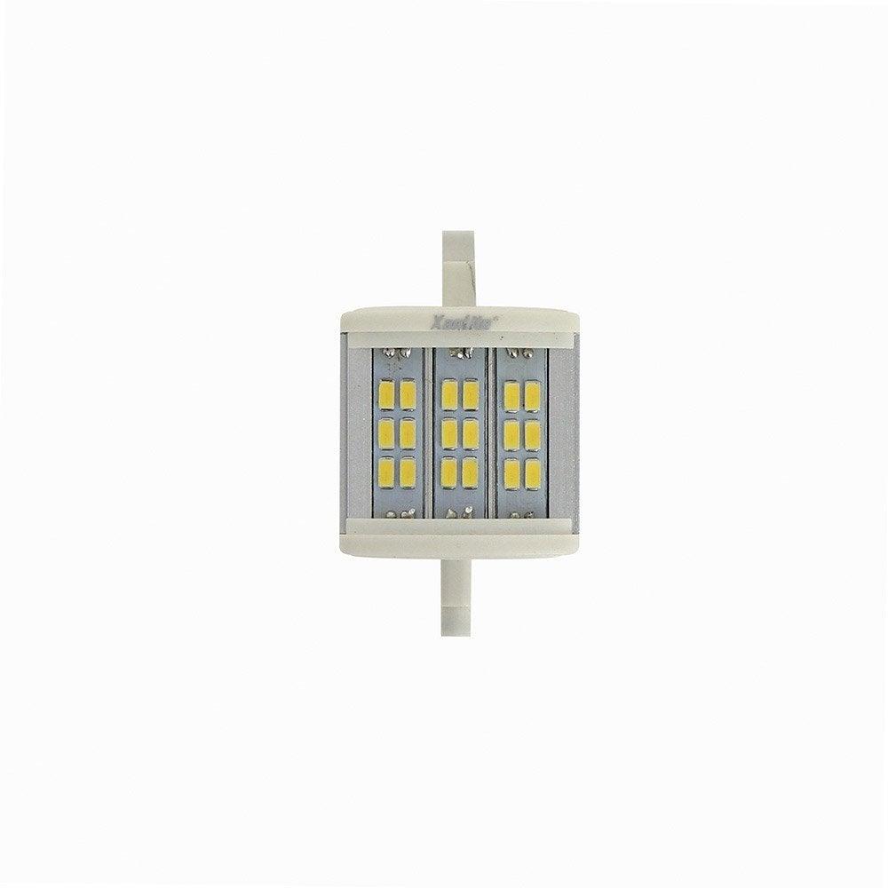 ampoule tube led 8w 600lm quiv 50w r7s 78 mm 3000k 120 xanlite leroy merlin. Black Bedroom Furniture Sets. Home Design Ideas