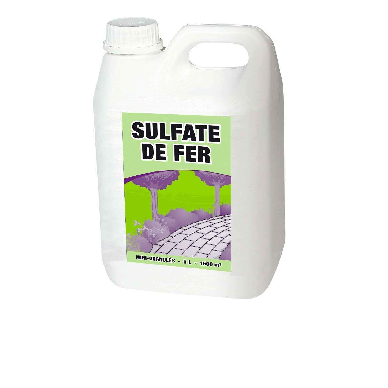 Sulfate de fer polyvalent 5 l leroy merlin - Paille de fer leroy merlin ...