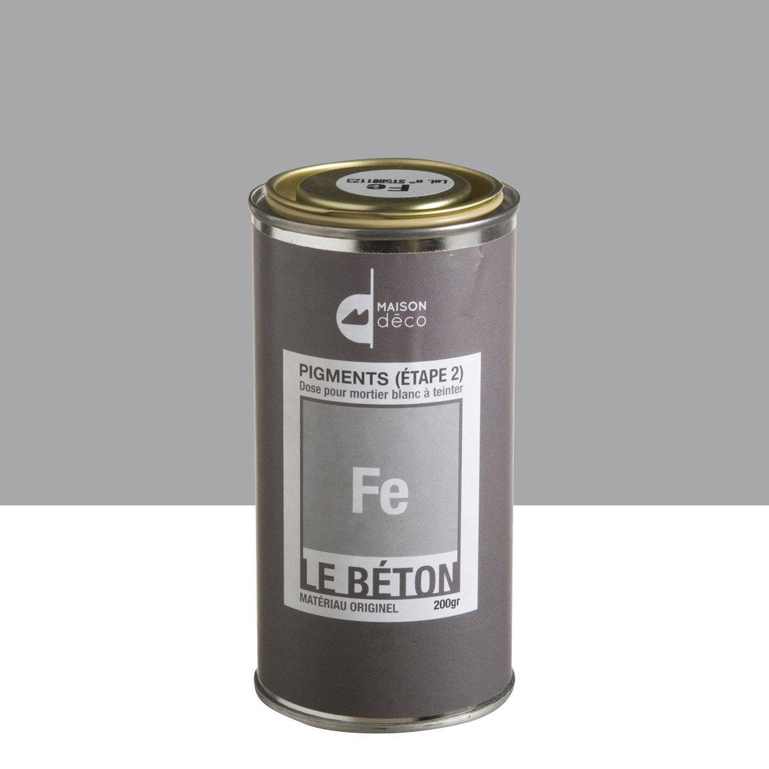 peinture effet pigment le b ton maison deco fe 0 2 kg. Black Bedroom Furniture Sets. Home Design Ideas