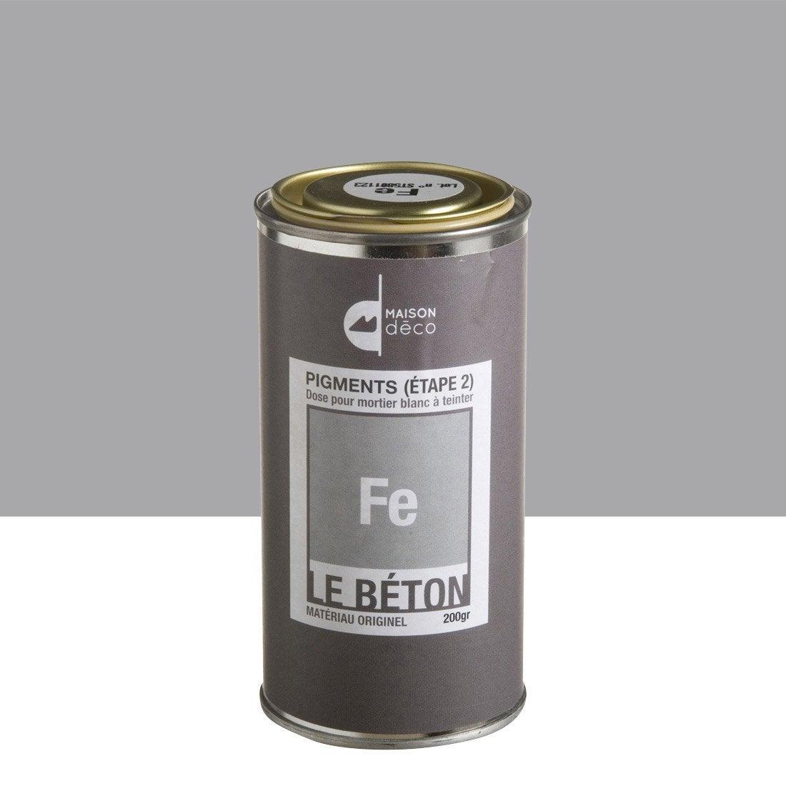 Peinture effet pigment le b ton maison deco fe 0 2 kg - Peinture les decoratives leroy merlin ...