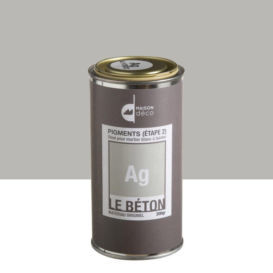 Peinture effet pigment le b ton maison deco ag 0 2 kg - Peinture beton exterieur leroy merlin ...